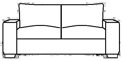 Camden Sofa Range Line Drawing