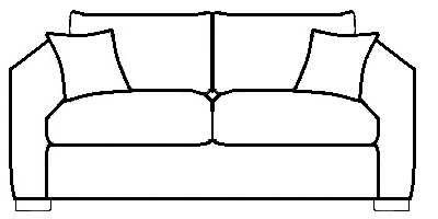 Mayfair Sofa Range Line Drawing