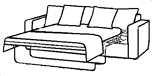 HSS Oxford sofa bed