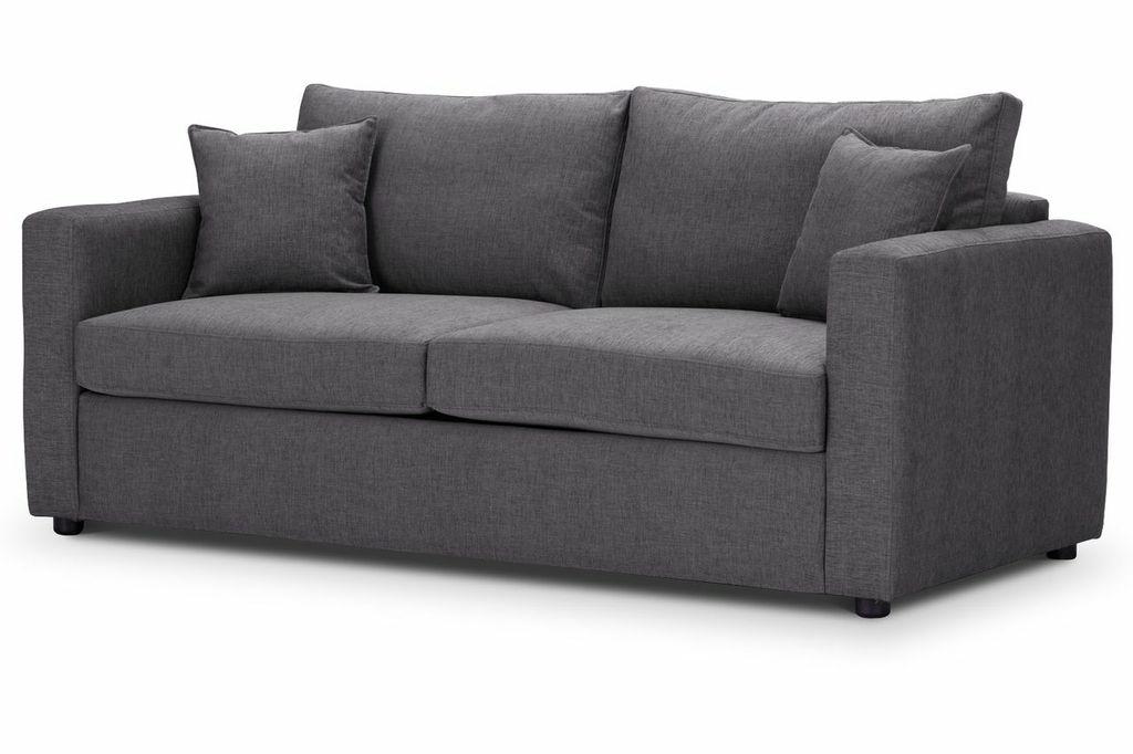 Oxford Medium Sofa Bed Steel Highly Sprung Sofas London